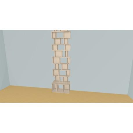 Bookshelf (H269cm - W82 cm)