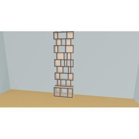 Bibliothèque (H272cm - L85 cm)