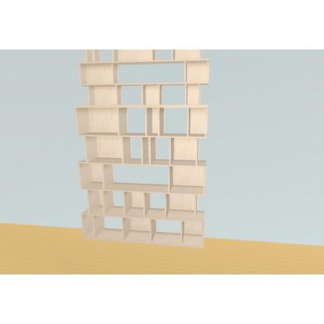 Bookshelf (H263cm - W166 cm)