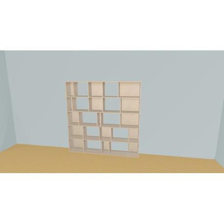 Bookshelf (H181cm - W200 cm)