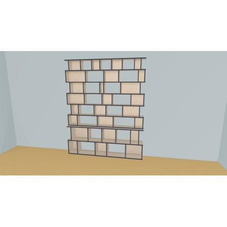 Bookshelf (H233cm - W210 cm)