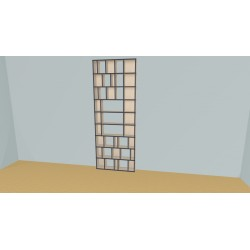 Bibliotheek (H243cm - B102 cm)