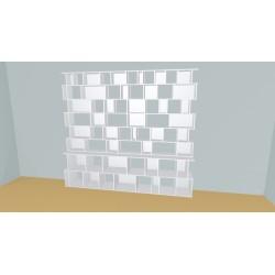 Bookshelf (H233cm - W290 cm)