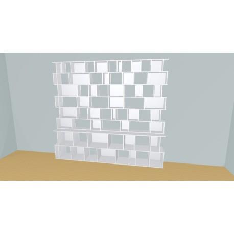 Bibliotheek (H233cm - B290 cm)