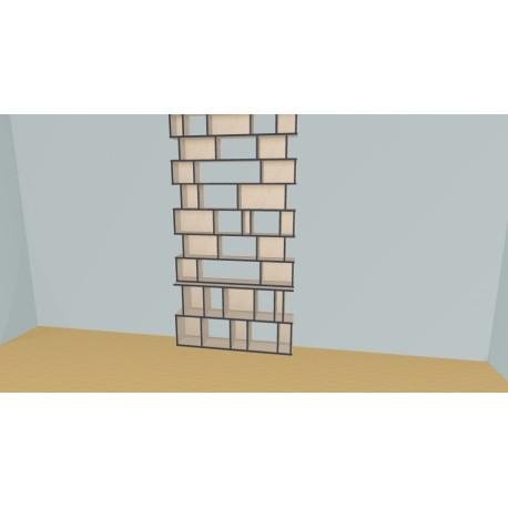 Bookshelf (H254cm - W147 cm)