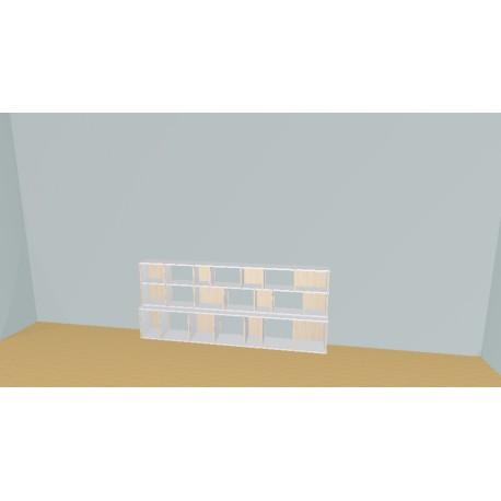 Bookshelf (H90cm - W240 cm)