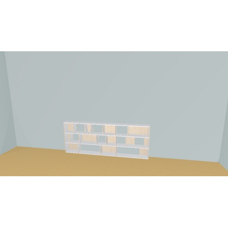 Bibliotheek (H82cm - B240 cm)