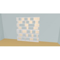 Bibliotheek (H218cm - B231 cm)