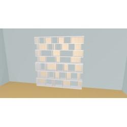 Bookshelf (H218cm - W231 cm)