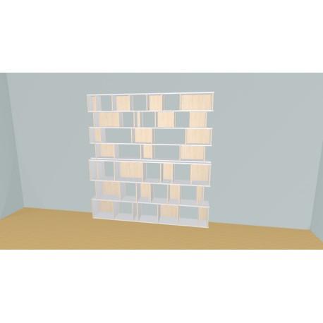 Meuble Bibliothèque sur-mesure (H218cm - L231 cm)