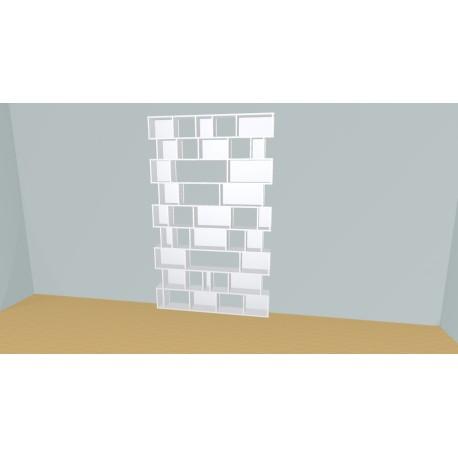 Bibliothèque (H237cm - L161 cm)