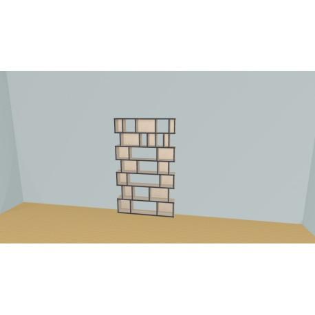 Bibliothèque (H174cm - L118 cm)