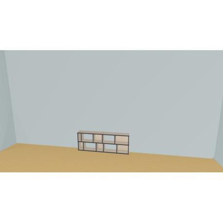 Bookshelf (H49cm - W150 cm)
