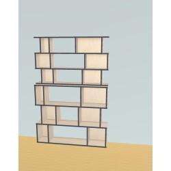 Bibliothèque (H191cm - L129 cm)