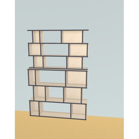 Bookshelf (H191cm - W129 cm)