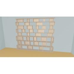 Bibliotheek (H239cm - B316 cm)