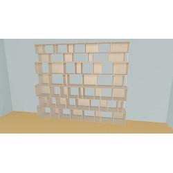 Bookshelf (H238cm - W320 cm)