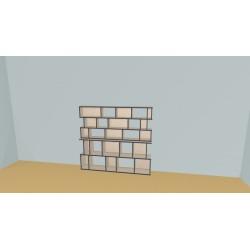 Bookshelf (H147cm - W180 cm)