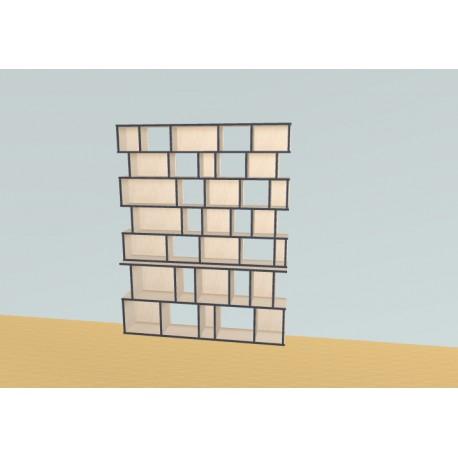 Bookshelf (H203cm - W160 cm)
