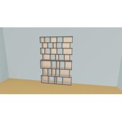 Bibliothèque (H212cm - L160 cm)