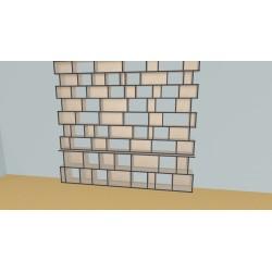 Bookshelf (H254cm - W279 cm)