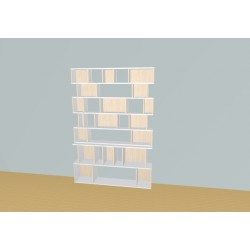 Bibliotheek (H203cm - B156 cm)
