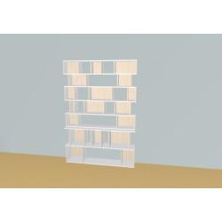Bibliothèque (H203cm - L156 cm)