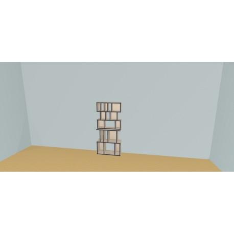 Custom bookcase (H147cm - W75 cm)