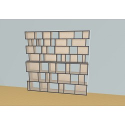 Bookshelf (H212cm - W245 cm)