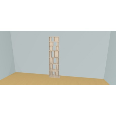 Bookshelf (H220cm - W60 cm)