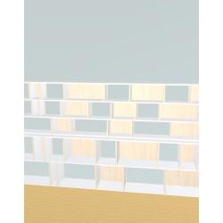 Bookshelf (H147cm - W300 cm)