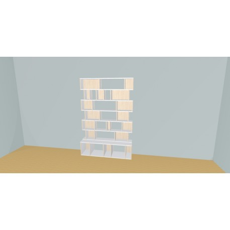Bibliotheek (H200cm - B150 cm)