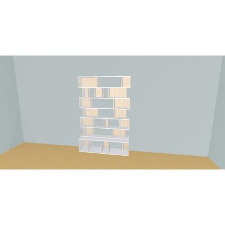 Bibliothèque (H200cm - L150 cm)