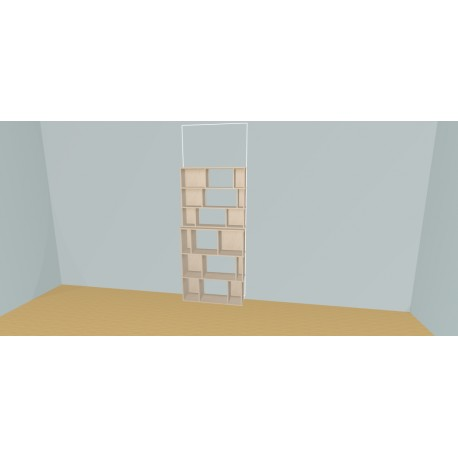 Custom bookcase (H191cm - W100 cm)