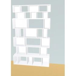 Meuble Bibliothèque sur-mesure (H232cm - L144 cm)