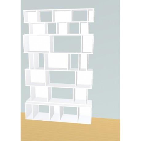 Boekenkast op maat (H232cm - B144 cm)