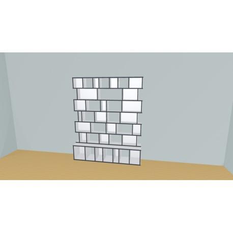 Custom bookcase (H197cm - W181 cm)