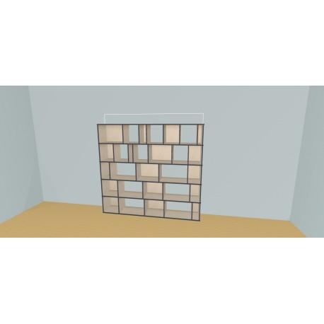 Custom bookcase (H181cm - W220 cm)