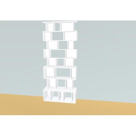 Boekenkast op maat (H247cm - B105 cm)