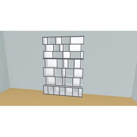 Custom bookcase (H229cm - W179 cm)