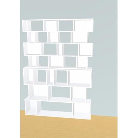 Boekenkast op maat (H212cm - B150 cm)