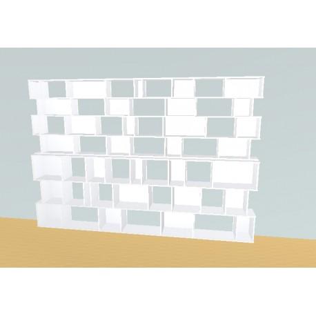 Boekenkast op maat (H212cm - B310 cm)