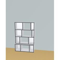 Custom bookcase (H147cm - W97 cm)