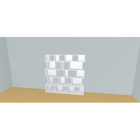 Boekenkast op maat (H175cm - B180 cm)
