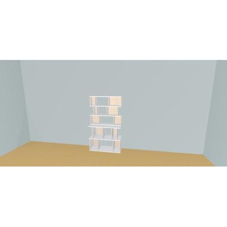 Custom bookcase (H156cm - W100 cm)