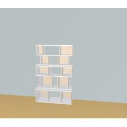 Boekenkast op maat (H157cm - B100 cm)