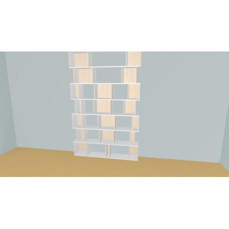 Meuble Bibliothèque sur-mesure (H324cm - L180 cm)