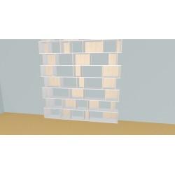 Meuble Bibliothèque sur-mesure (H315cm - L243 cm)