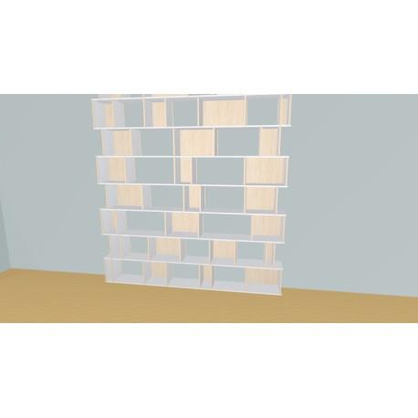 Custom bookcase (H324cm - W243 cm)