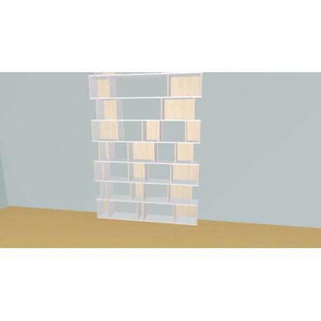Custom bookcase (H324cm - W180 cm)